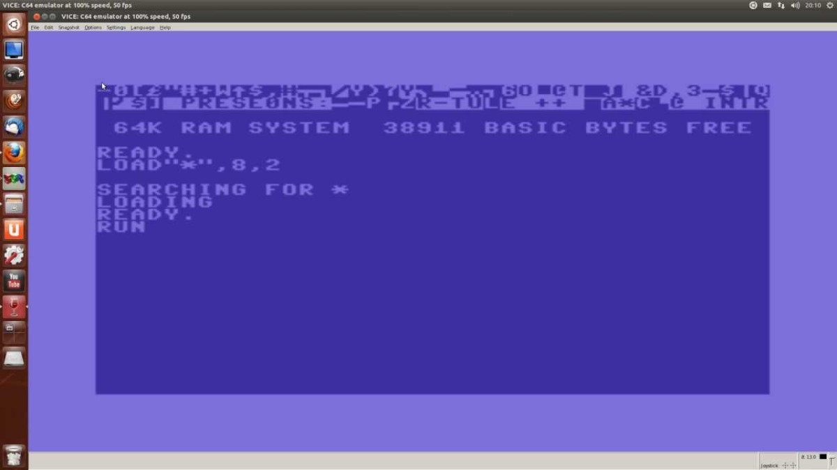 VICE - Emulador de Commodore 64/128 para Windows, Mac y GNU/Linux