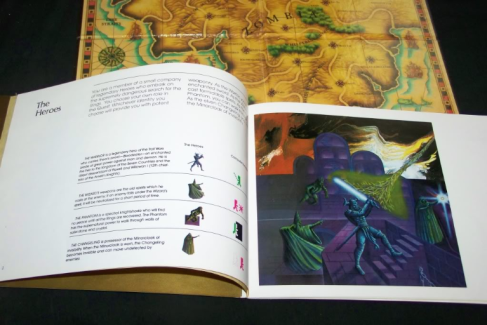 quest for the rings map manual